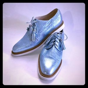 Kenneth Cole Blue Oxfords